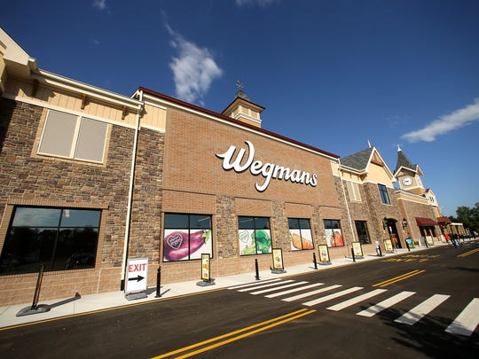The new Hanover Wegmans, a 113,000 square-foot supermarket, opening in Hanover's Mack-Cali campus at the intersection of I-287 and NJ Route 10 on July 23. July 21, 2017. Hanover, NJ