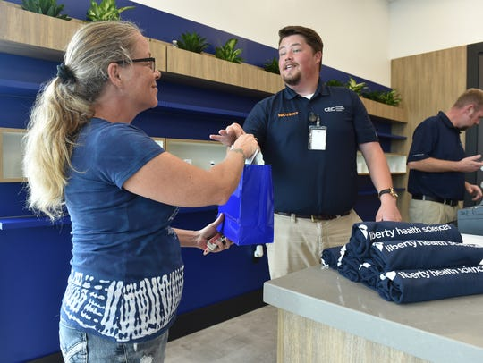 The Liberty Health Sciences Cannabis Education Center, the first medical cannabis dispensary in Port St. Lucie, and St. Lucie County, opened Friday, June 1, 2018, at 10491 South US Highway 1 in Port St. Lucie.