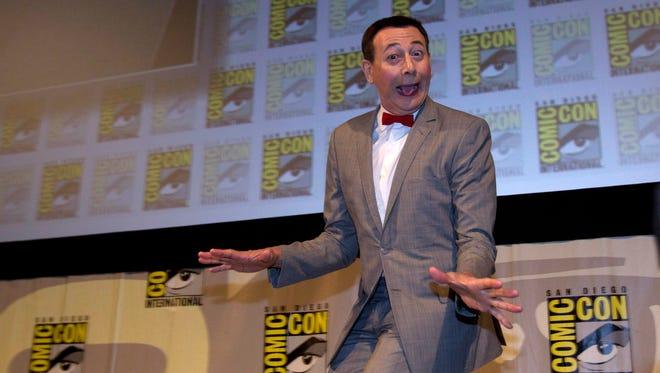 Paul Reubens as Pee-wee Herman at Comic Con in July 2011.