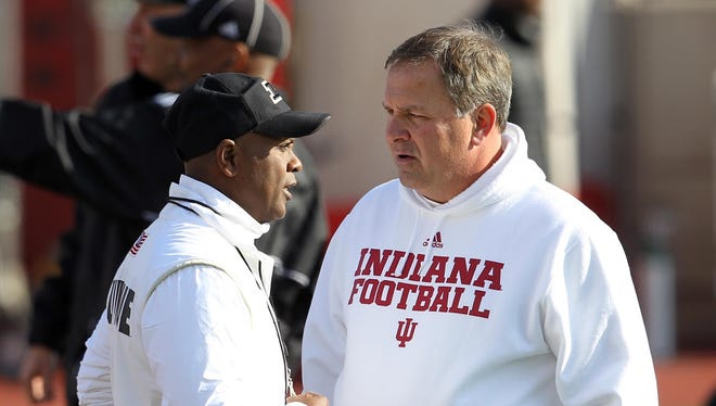 Oddsmakers don't expect to see a Purdue-IU matchup at Lucas Oil Stadium for the Big Ten title game.