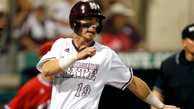 Mississippi State's Brent Rooker is one of only a few returning players for the Bulldogs this season.