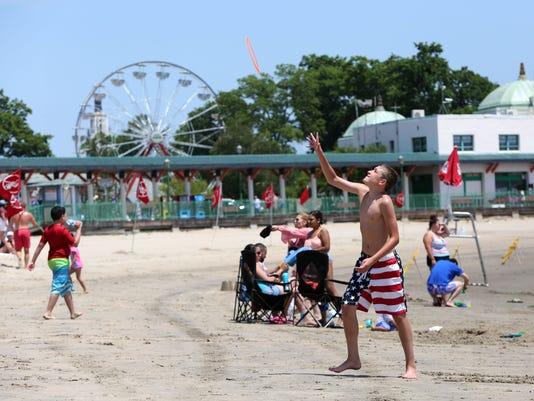 Playland beach