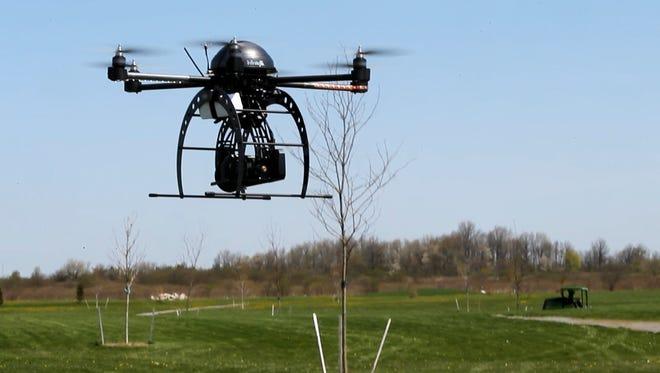 One of SkyOp?s drones.