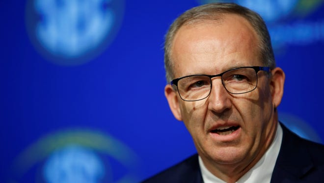 SEC Commissioner Greg Sankey addressed the conflict between South Carolina and Missouri by issuing a public reprimand and fining Missouri's athletic director and having league officials review South Carolina's game management and security for visiting teams.