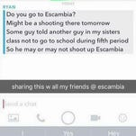 Escambia High School shooter threat unsubstantiated