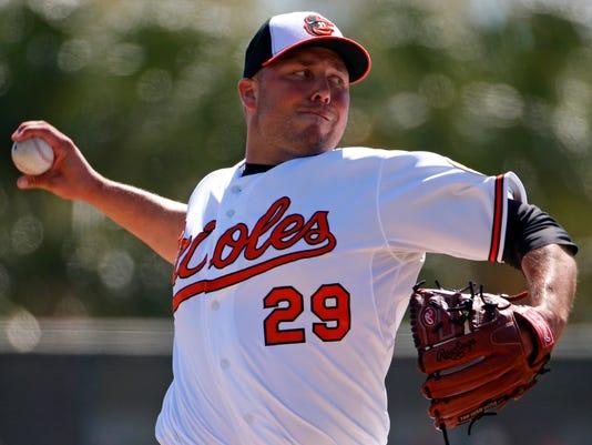 Orioles Hunter Spring Baseball