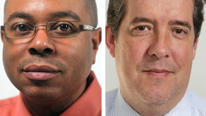 James Hill, left, and Christopher Kirkpatrick have been named senior news directors of the Free Press