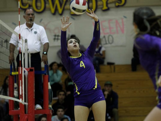 2016 CIF Central Coast Section Girls Volleyball Tournament - Division 1: Salinas vs. Abraham Lincoln