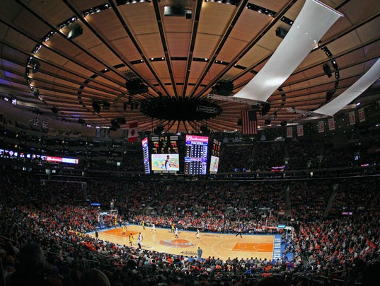 USP NBA: PLAYOFFS-INDIANA PACERS AT NEW YORK KNICK S BKN USA NY