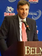 Scott Corley was hired at Belmont on May 31