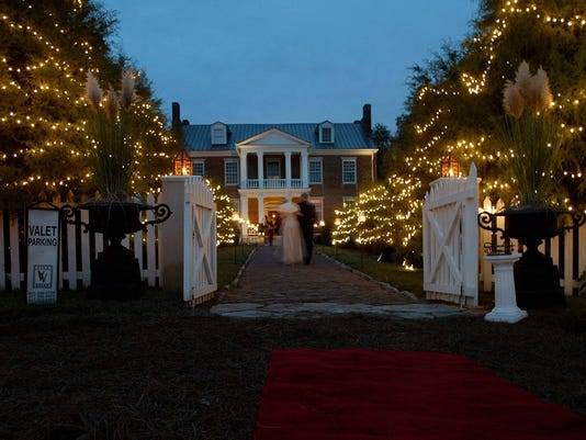 Site for the Heritage Ball, Historic Carnton Plantation