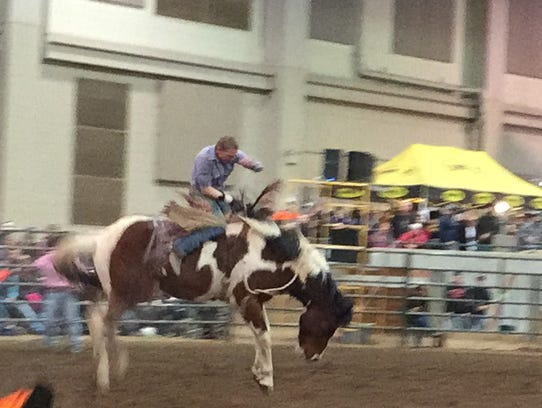 Rodeo Stampedes Into Msu