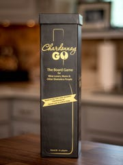 Chardonnay Go is packaged like a bottle of wine for