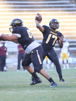 Grambling quarterback Johnathan Williams threw for three touchdowns in Saturday's win over Alcorn State.
