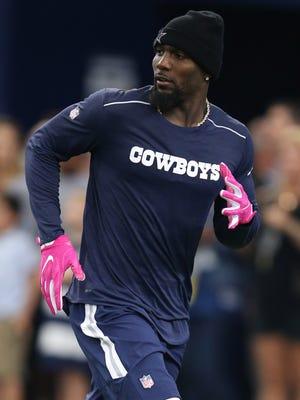 Cowboys WR Dez Bryant hasn't played since Week 3.