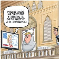 January political cartoons from the USA TODAY Network