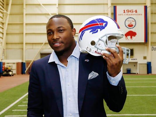NFL: Buffalo Bills-LeSean McCoy Press Conference
