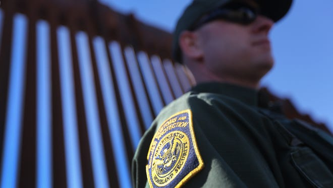 Border Patrol officials are searching to find the family of two children who were rescued near San Miguel.
