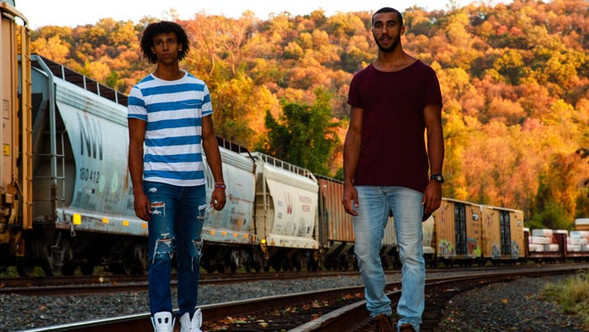 Cory Dandy (left) and Jordan Dandy (right) make up the band Dandy.