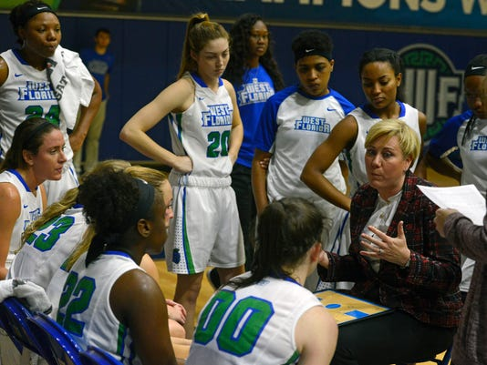 UWF Women's Basketball vs Delta State 6