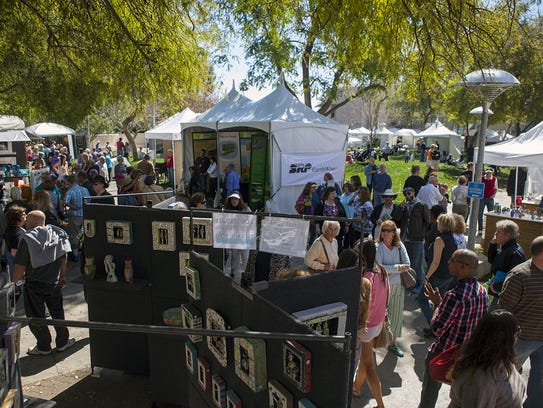 Scottsdale Arts Festival will feature 170 jury-selected artists from the U.S. and Canada.