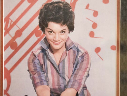 A photo of Connie Francis, seen at the Asbury Park