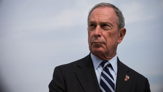 New York City Mayor Michael Bloomberg speaks at a press conference.