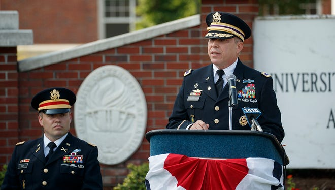 Col. David Strauss is a 1993 graduate of the University of Tennessee at Martin.