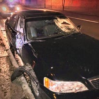 Woman arrested after driving with a smashed windshield in Wausau