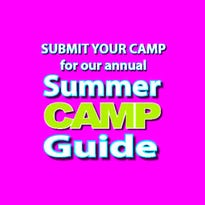Submit your free listing to our 2018 camp guide