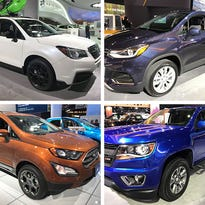 These vehicles at the Detroit auto show are great for short people