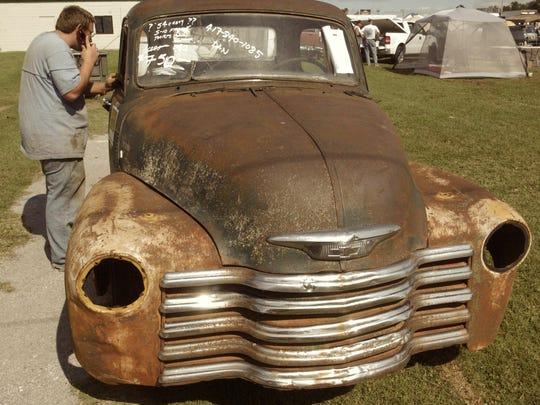 The Ozarks Antique Auto Club Swap Meet is Friday through Sunday at the Ozark Empire Fairgrounds.