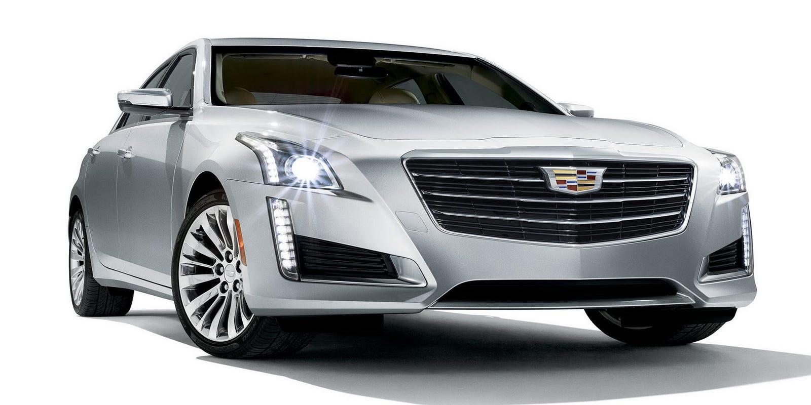 2015 Cadillac CTS engaging performer