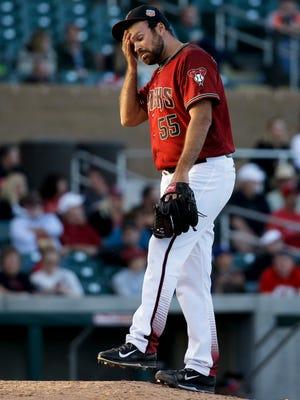 Arizona Diamondbacks pitcher Josh Collmenter.