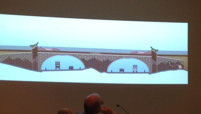 The Exit 118 design will look something like this, according to City Engineer Travis Anderson.