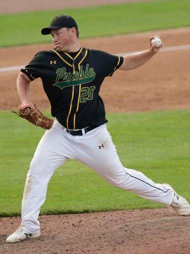 Green Bay Preble High School baseball's Quinn Williquette