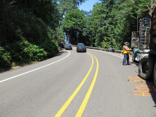 Salem man dies in Highway 20 crash