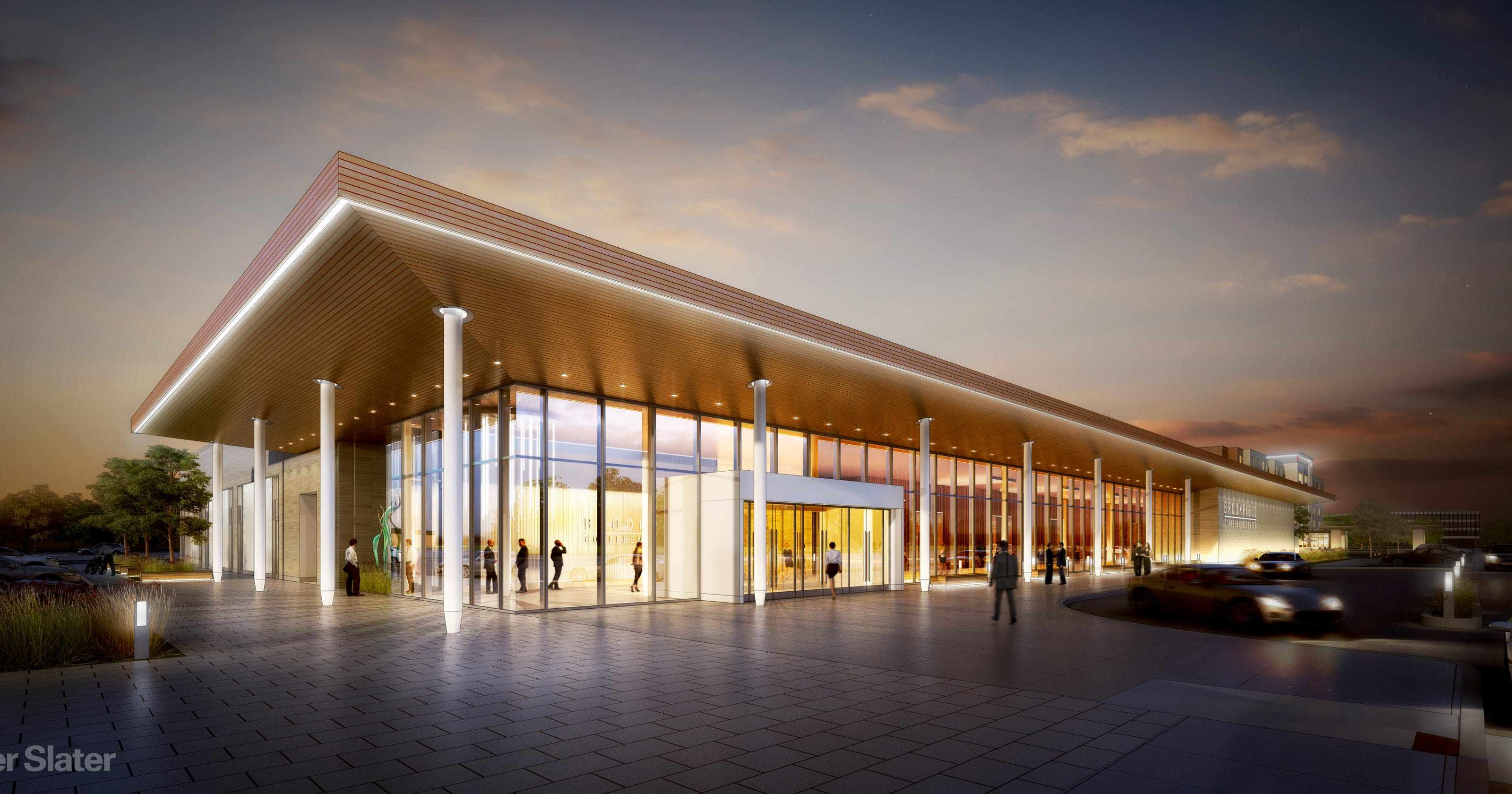 New Brookfield Square conference center, hotel designs unveiled