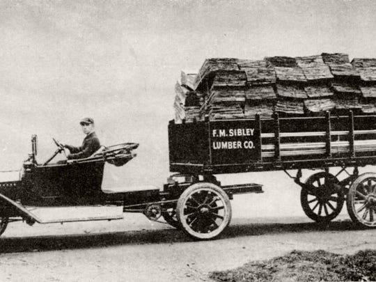 August Fruehauf was the inventor of the semi-trailer.
