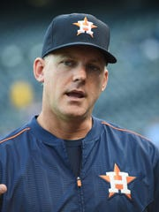 Houston Astros manager A.J. Hinch has earned a nod