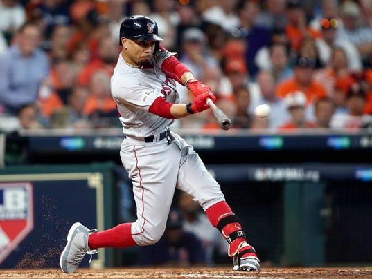 MLB: ALDS-Boston Red Sox at Houston Astros