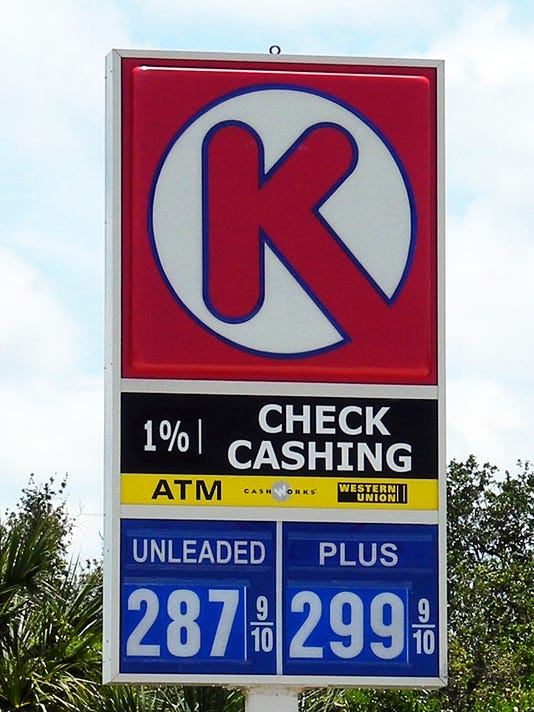 gas prices Circle K