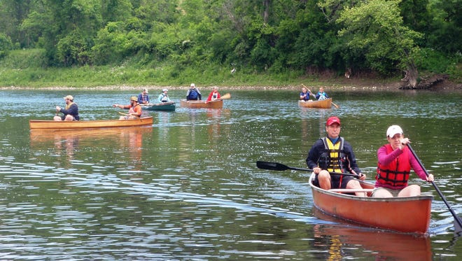 Free paddling lessons and a series of guided, themed trips will be given on the Chemung River.