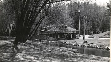 The Art Oehmcke State Fish Hatchery, which began producing in 1901, is one of two hatcheries that will get upgrades. This is a historical picture of the hatchery from 1938.