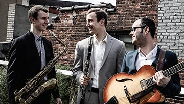 "The Peter and Will Anderson Trio will appear at Seville Quarter on Monday for Jazz Pensacola's ""Jazz Gumbo."""
