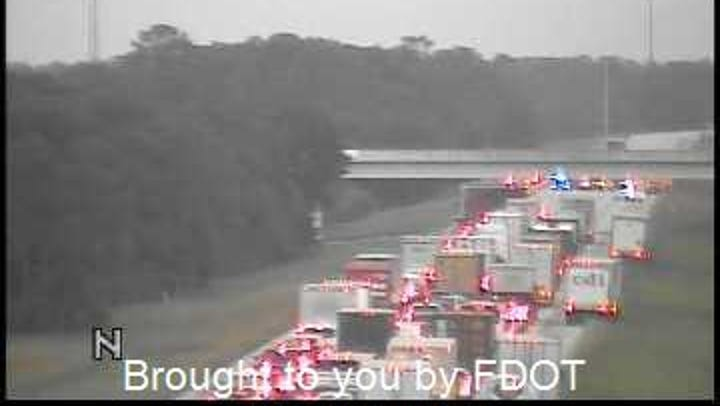 Fatal crash closed portion of I-95 in Palm City for four hours Wednesday morning