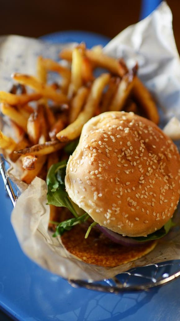 We wanna know:  what's the best burger in downtown Greenville?