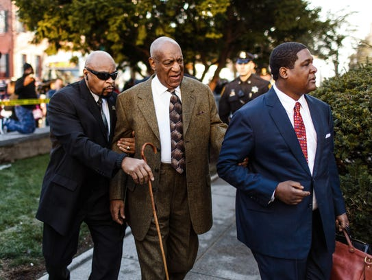 Bill Cosby arrives for hearing in Montgomery County