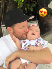 Dale Earnhardt Jr. shares adorable story about one of his newborn daughter's firsts
