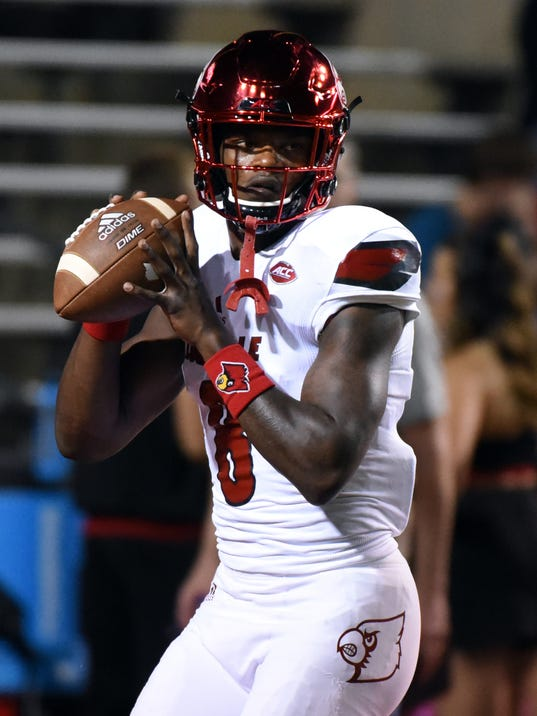 NCAA Football: Louisville at North Carolina State
